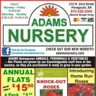 Mulch Edging Insecticides Herbicides Fingicides Fertilizers Weed Control Garden Decor And More From Adams Nursery Landscaping In Paragould Ar